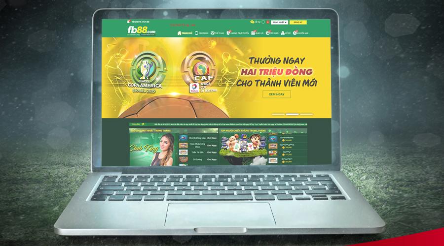 Nhà cái FB88 là trang cá cược bóng đá trực tuyến số 1 châu á