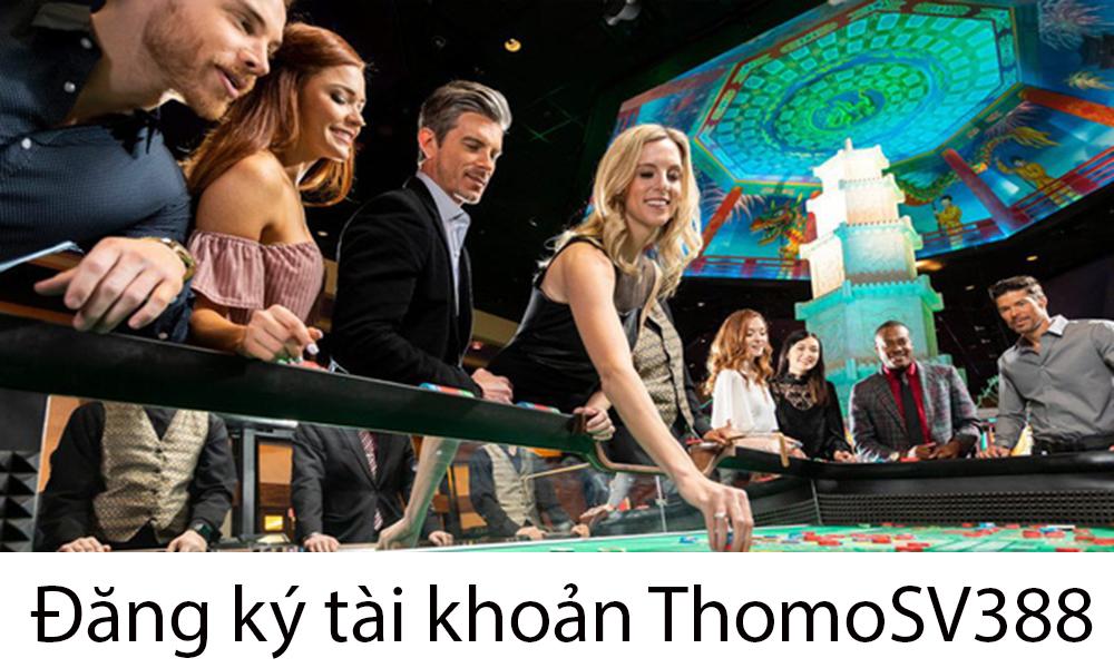 Đăng ký tài khoản ThomoSV388
