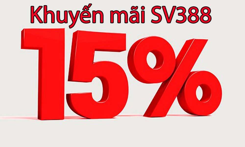 Khuyến mãi 15% tiền nạp hàng ngày
