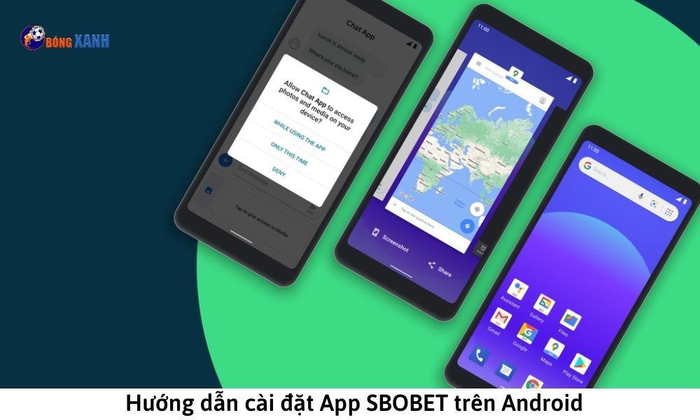 Hướng dẫn cài đặt App SBOBET trên Android