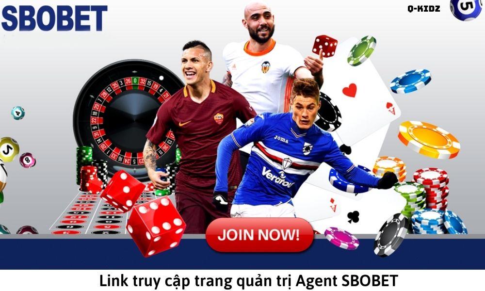 Link truy cập trang quản trị Agent SBOBET